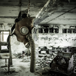 Gasmasker Chernobyl