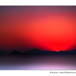 Fethiye zonsondergang