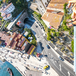 Genieten van het uitzicht op Porto