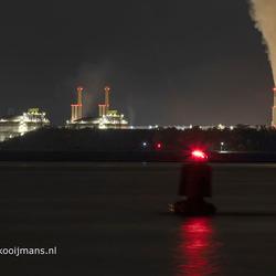 Tweede Maasvlakte bij nacht