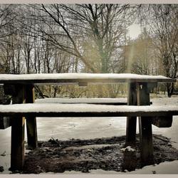 Zonnige winterdag ..