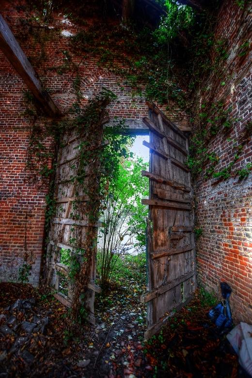 Abandoned barn  -