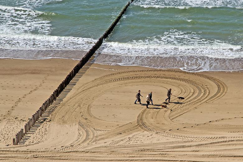 Sporen - Strand van Zoutelande