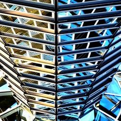 Mirrors  in Reichstag