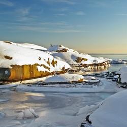 Bevroren kust