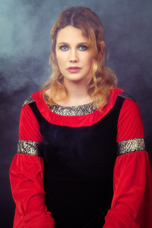 from the dark ages - model Linda