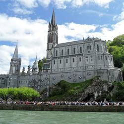 Frankrijk Lourdes -Basilique du Rosaire-