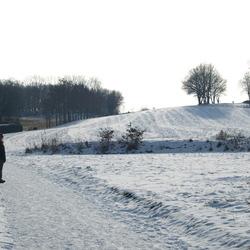 winterlandschap Limburg