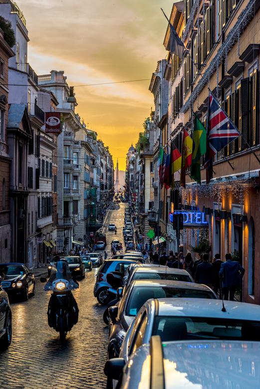 Rome - Het leven bij zonsondergang -