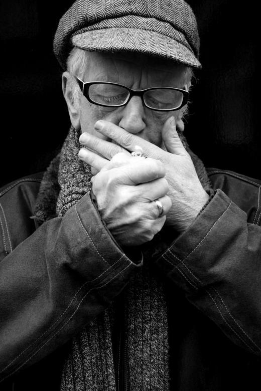 Portrait old man - Portrait old man
