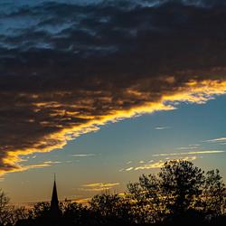 zonsondergang in zevenhuizen I