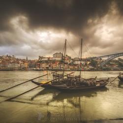 Rabelo boten in de Douro