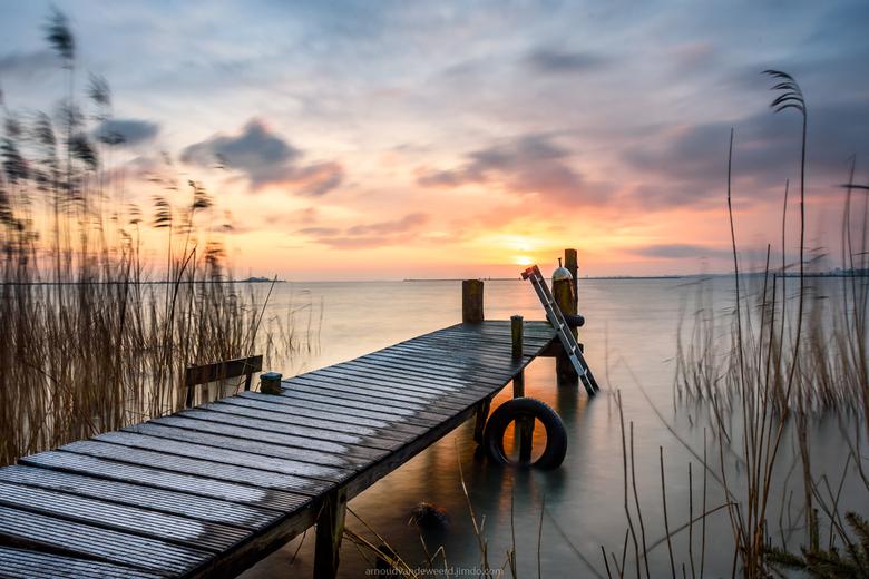 One of those mornings... - Soms zijn er van die ochtenden dat alles op zijn plek valt en je gewoon weet dat het een hele mooie zonsopkomst gaat worden