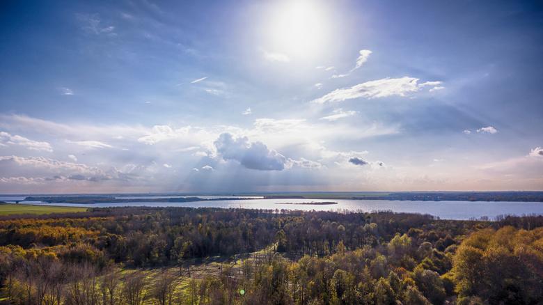 Uitzicht over het Gooimeer