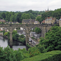Uitzicht over Knaresborough