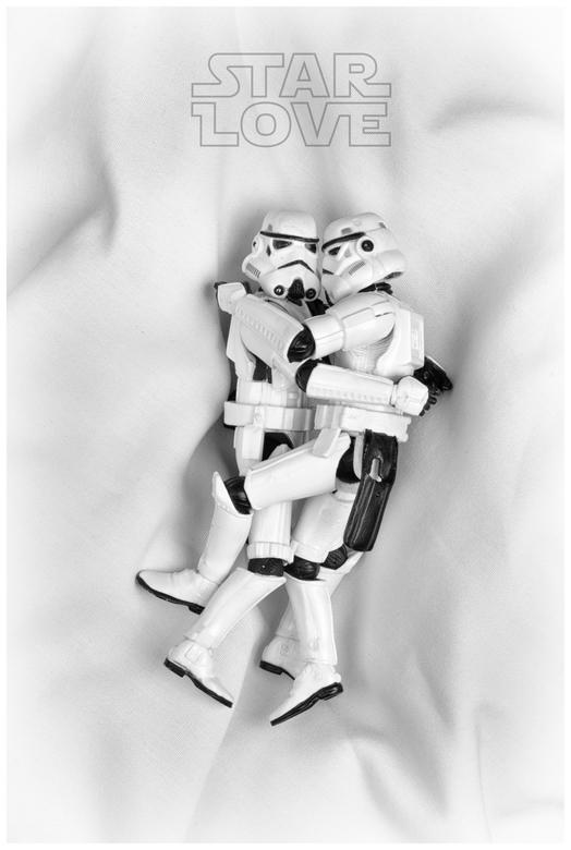 make love, not war! - Voor de liefhebbers (van Star Wars).