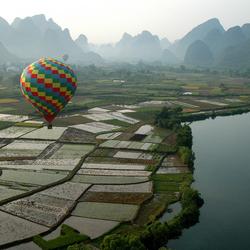 luchtballon tocht