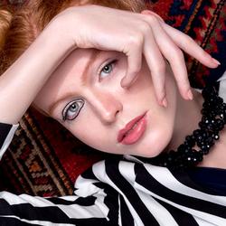 Sara op de cover van Imirage Magazine