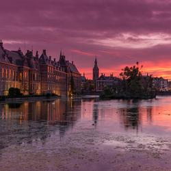 Binnenhof Golden Hour