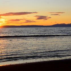 Sunset in Ayr