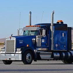 American blue truck