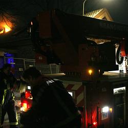 Brand tijdens een witte nacht