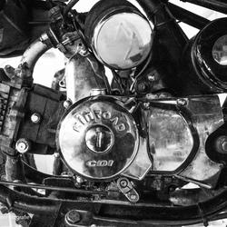Oude motor