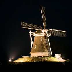 Mill in the light