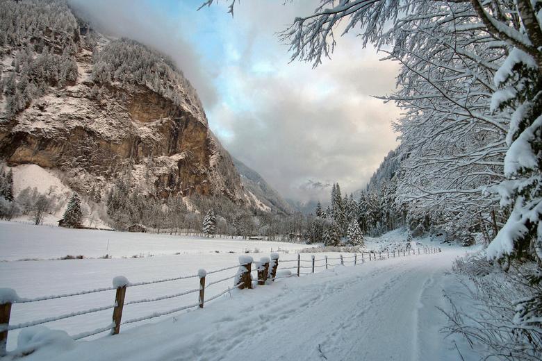 Verscholen dal 3 - Nog eentje van het Kotschachtal bij Bad Gastein in het Salzburgerland van Oostenrijk.