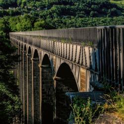 Het aquaduct van Llangollen