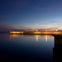 zonsopgang Valencia haven