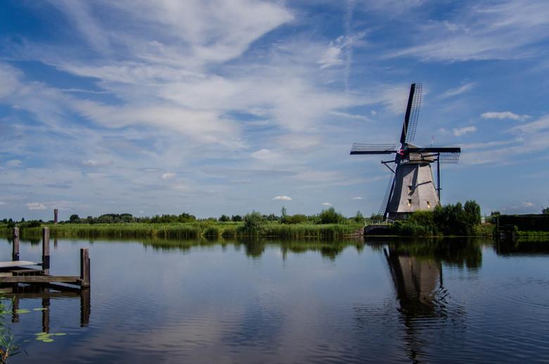 Kinderdijk - Nog een foto van bijna de meest fotogenieke plek in Nederland: Kinderdijk.