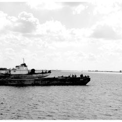 Vreemde lading voor een schip