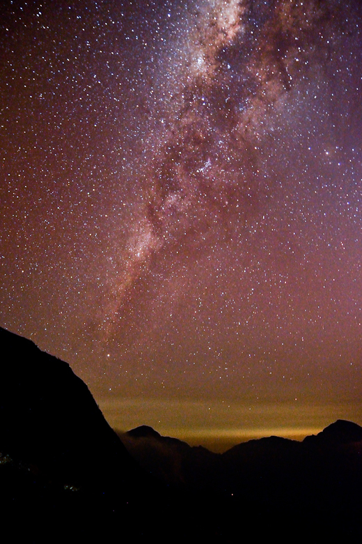 Melkweg - Eén van de dingen die ik had gehoopt te zien én te fotograferen tijdens mijn reis in Indonesië. Deze foto van de melkweg is genomen tijdens