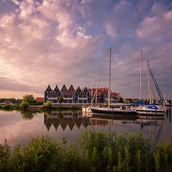 Avond in Volendam