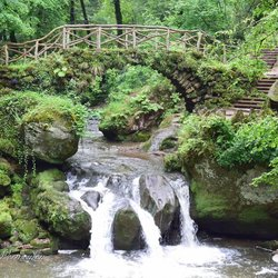 Waterval in Luxemburg
