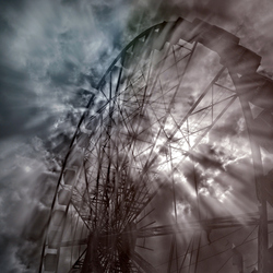 the crazy twisted ferris wheel