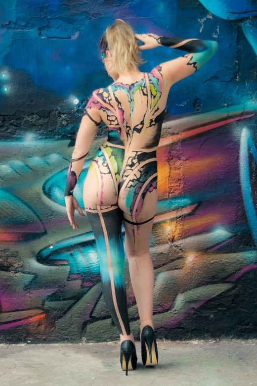 My first bodypaint (shoot) #3