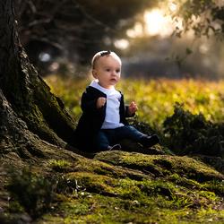 Wereld van een klein meisje