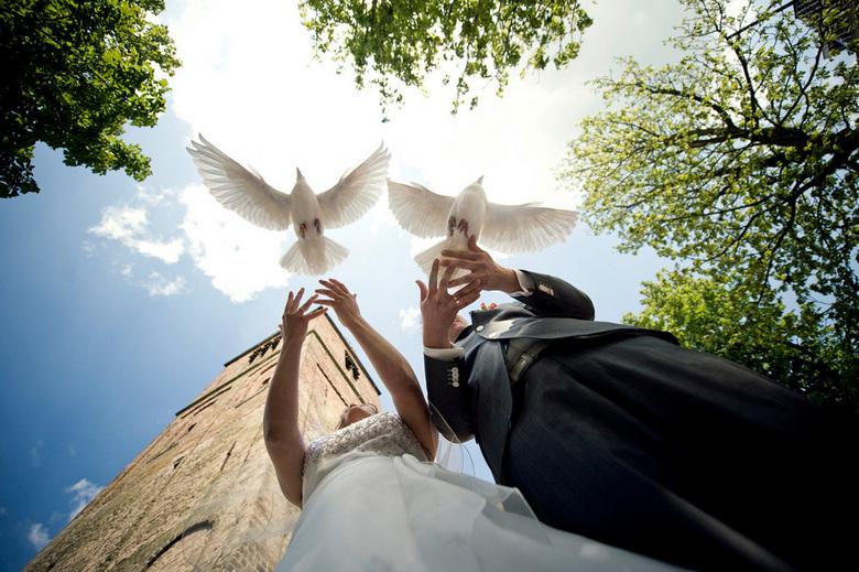 Het begin. - Hallo!!! Zo sporadisch plaats ik nog eens een foto op ZOOM, blijft leuk!<br /> Ik heb onlangs mijn derde bruiloft gefotografeerd, met du