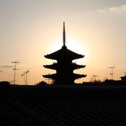 Kyoto Japan contrast