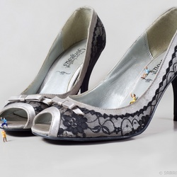 Sliding into her shoes v2