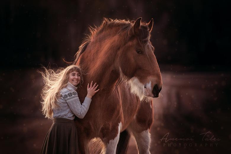 Emma en Lillen de Shire -