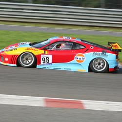 Ferrari F430GT laag en hard