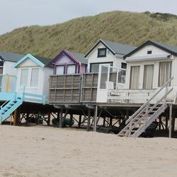 Strandhuisjes Zeeland