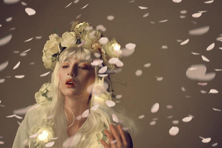 Je regarde les fleurs tombent - De titel betekent: Ik zie de bloesem vallen. <br /> <br /> Elke lente als de bloemen bloeien, wacht ik tot het heel