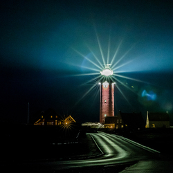 Texel by night