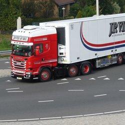 P1470006 Uitz Fietsbrug Snelbinder Scania J P Vis 25 sept 2017