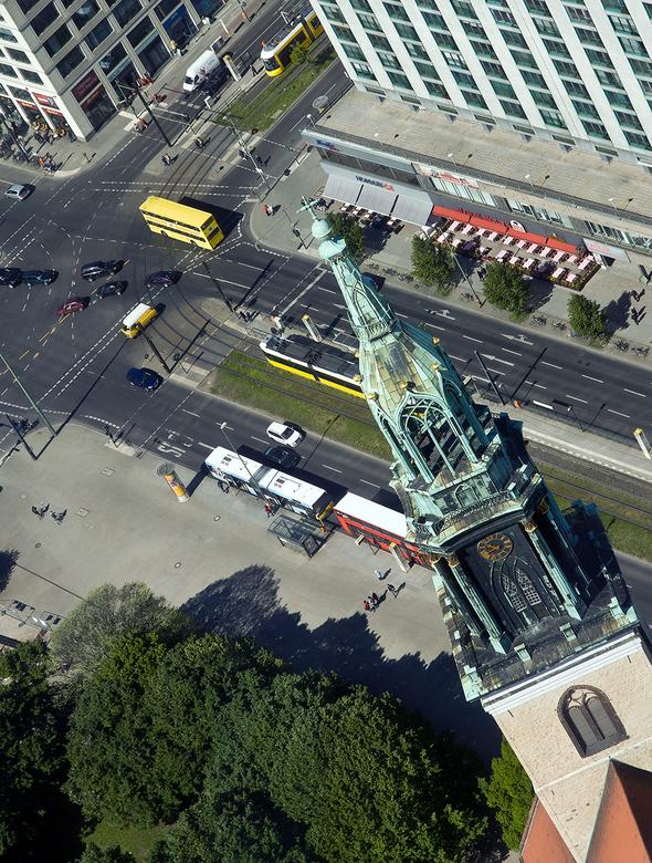 Berlijn 9 - Gezien vanaf de Fernsehturm.