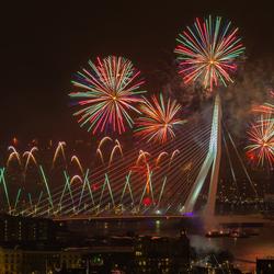 Het nationale vuurwerk in Rotterdam!